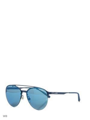 Очки солнцезащитные ARNETTE. Цвет: синий, белый