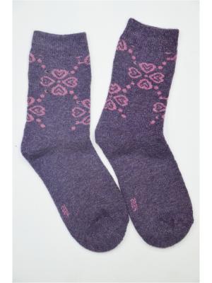 Носки ВАЛЕНТИНА СТИЛЬ. Цвет: фиолетовый