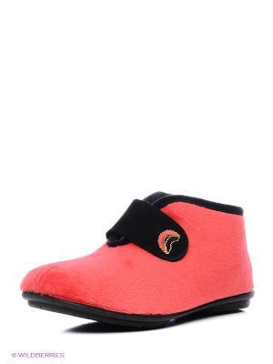 Испанские тапочки Mon Ami. Цвет: красный