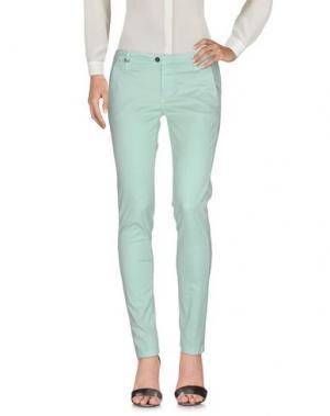 Повседневные брюки DW⁵. Цвет: светло-зеленый