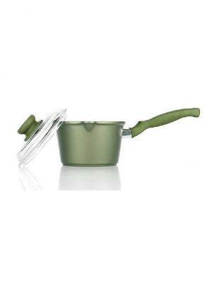 Ковш 16 см, индукция Risoli. Цвет: зеленый