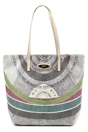 Bag Gattinoni. Цвет: white, grey, green