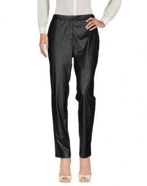 Повседневные брюки DEVOTION. Цвет: черный