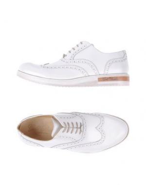 Обувь на шнурках GOLD BROTHERS. Цвет: белый