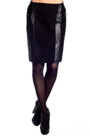Юбка Giorgio. Цвет: черный