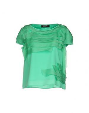 Блузка LIST. Цвет: светло-зеленый