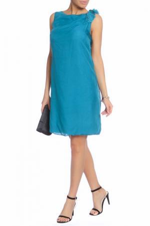 Платье Caractere. Цвет: бирюзовый