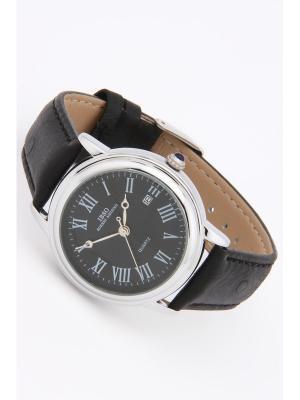 Часы на ремне IBSO. Цвет: черный, серебристый