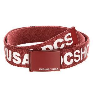 Ремень DC Chinook Tx Heather Syrah Shoes. Цвет: ,бордовый