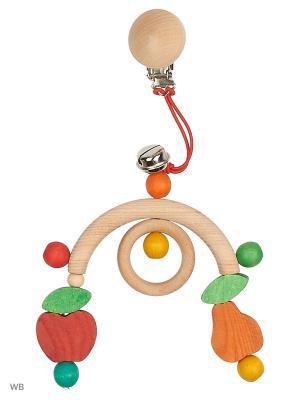 Подвеска для коляски Мини-мобиль Фрукты S-MALA. Цвет: оранжевый