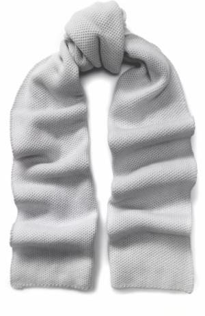 Кашемировый шарф Kashja` Cashmere. Цвет: светло-серый