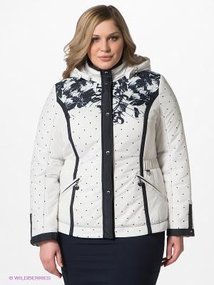 Куртка VIZANI. Цвет: белый