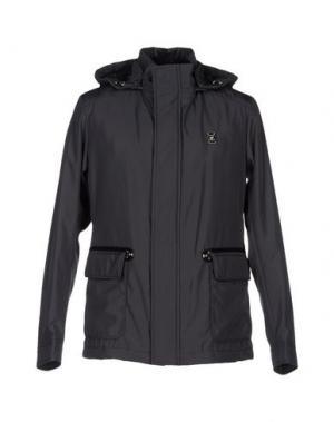Куртка PIERO GUIDI. Цвет: свинцово-серый