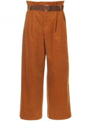 Вельветовые брюки G.V.G.V.. Цвет: коричневый