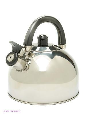 Чайник металлический Bekker. Цвет: белый