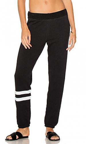 Свободные брюки plato Michael Lauren. Цвет: черный
