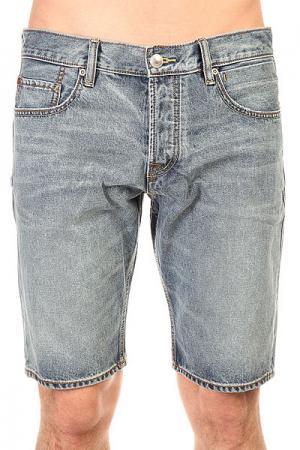 Шорты джинсовые  Sequel Shrt Dust Dnst Bowl Quiksilver. Цвет: синий
