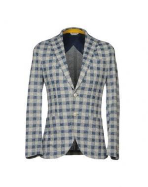 Пиджак MANUEL RITZ. Цвет: грифельно-синий