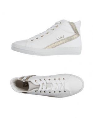 Высокие кеды и кроссовки CULT. Цвет: белый