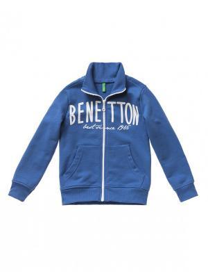 Толстовка United Colors of Benetton. Цвет: темно-синий, темно-фиолетовый