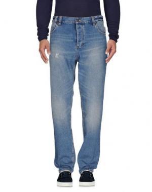 Джинсовые брюки 0051 INSIGHT. Цвет: синий