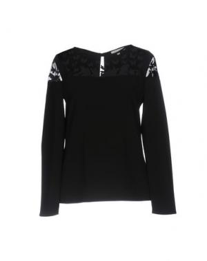 Блузка TRY ME. Цвет: черный