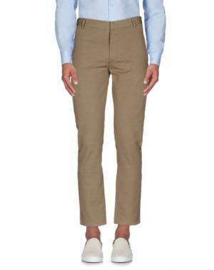 Повседневные брюки 26.7 TWENTYSIXSEVEN. Цвет: хаки