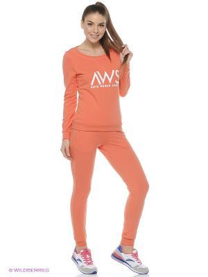 Свитшот ANTA. Цвет: оранжевый