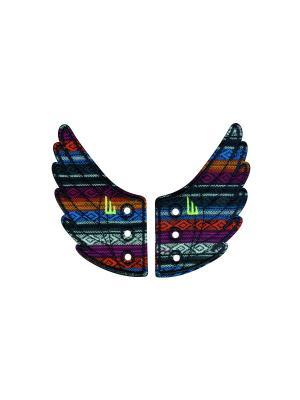 Декоративные крылья для кроссовок Wings for Shoes Donkey. Цвет: черный, красный, оранжевый, персиковый, серо-голубой