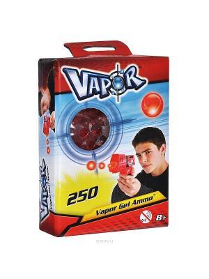 Готовые заряды красного цвета для бластеров 250 штук Vapor. Цвет: красный, черный