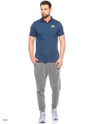 Футболка-поло M NSW POLO SS MATCHUP JSY Nike. Цвет: синий