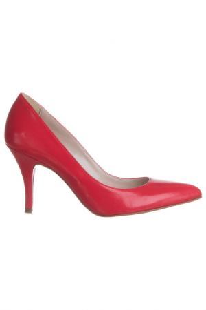 Туфли на каблуке FORMENTINI. Цвет: красный