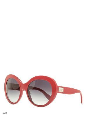 Очки солнцезащитные DOLCE & GABBANA. Цвет: малиновый