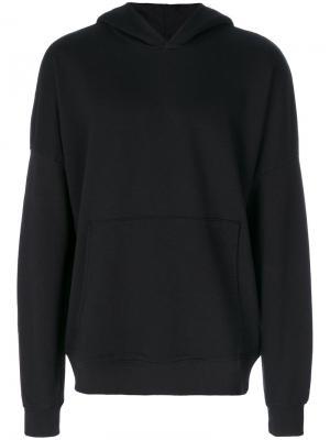 Front pocket hoodie Thom Krom. Цвет: чёрный