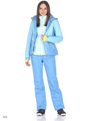 Брюки сноубордические Volkl. Цвет: голубой, морская волна