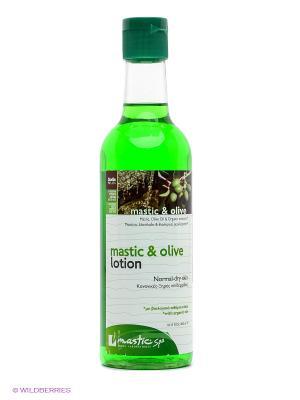 Лосьон для лица увлажняющий и питательный Mastic & olive lotion Spa. Цвет: зеленый