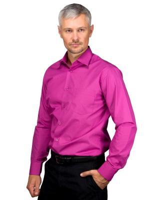 Рубашка GREG. Цвет: лиловый