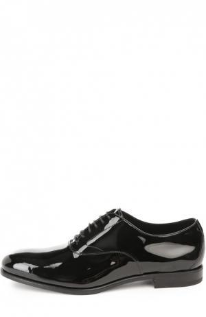 Туфли с рожком для обуви H`D`S`N Baracco. Цвет: черный