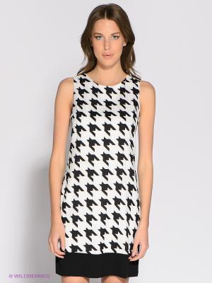 Платье Ya Los Angeles. Цвет: черный, белый