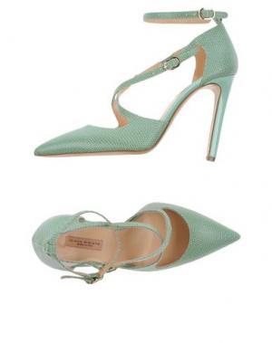 Туфли GAIA D'ESTE. Цвет: светло-зеленый