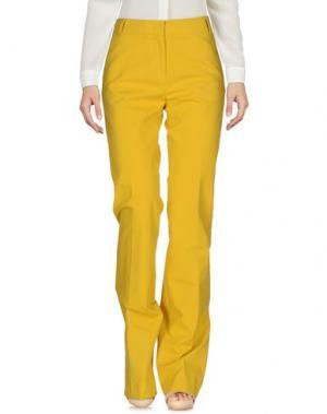 Повседневные брюки E/KOLLINS. Цвет: желтый