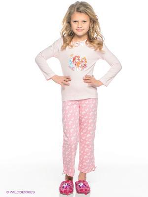 Пижама Sun City. Цвет: бледно-розовый
