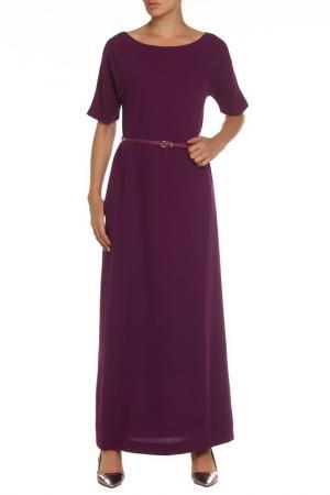 Платье-макси NATALIA PICARIELLO. Цвет: фиолетовый