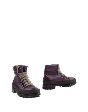 Полусапоги и высокие ботинки RAPARO. Цвет: фиолетовый