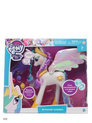 Пони Принцесса Селестия My Little Pony. Цвет: белый, розовый
