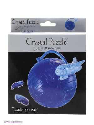 Головоломка  Путешественник Crystal puzzle. Цвет: синий