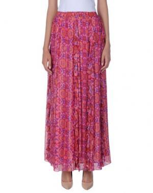 Длинная юбка MANOUSH. Цвет: фуксия