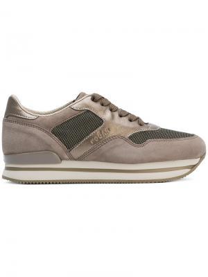 H222 sneakers Hogan. Цвет: телесный