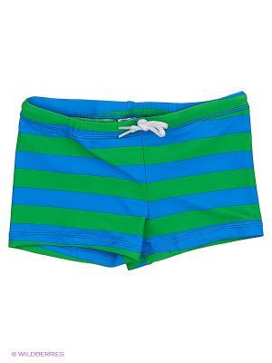 Плавки купальные INCITY. Цвет: синий, зеленый