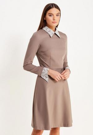 Платье Gregory. Цвет: разноцветный